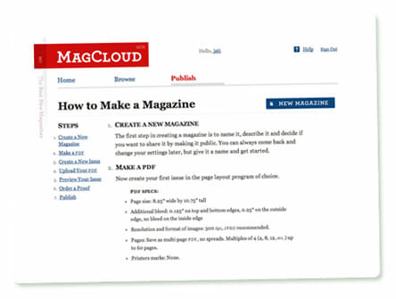 MagCloud: How to Make a Magazine