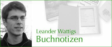 Logo zu Leander Wattigs Buchnotizen