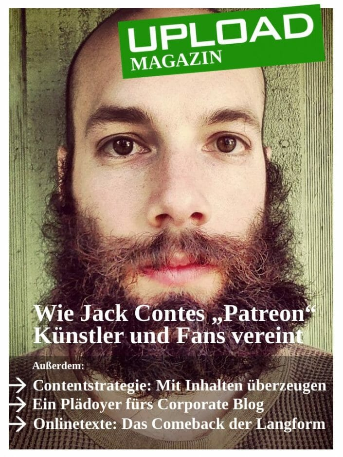 UPLOAD Magazin 08-2013