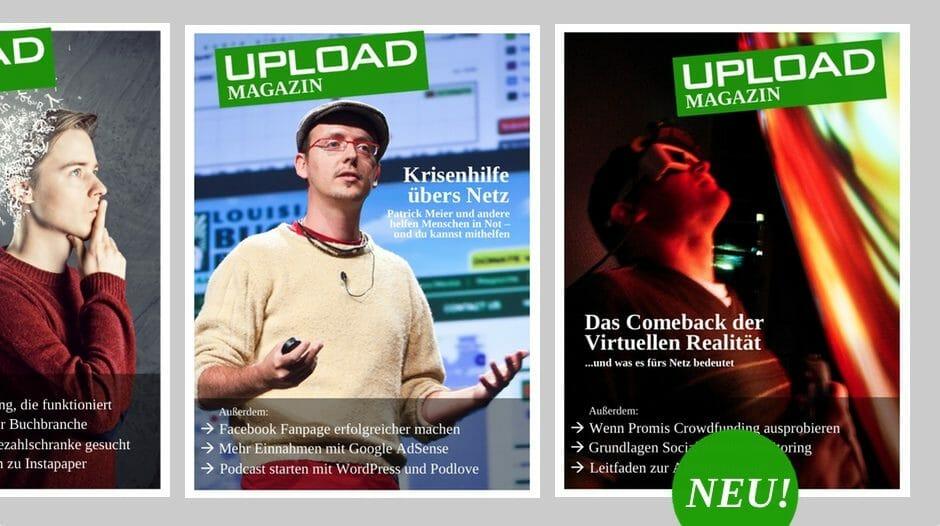 UPLOAD Magazin Januar 2014