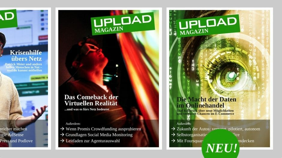 UPLOAD Magazin Februar 2014