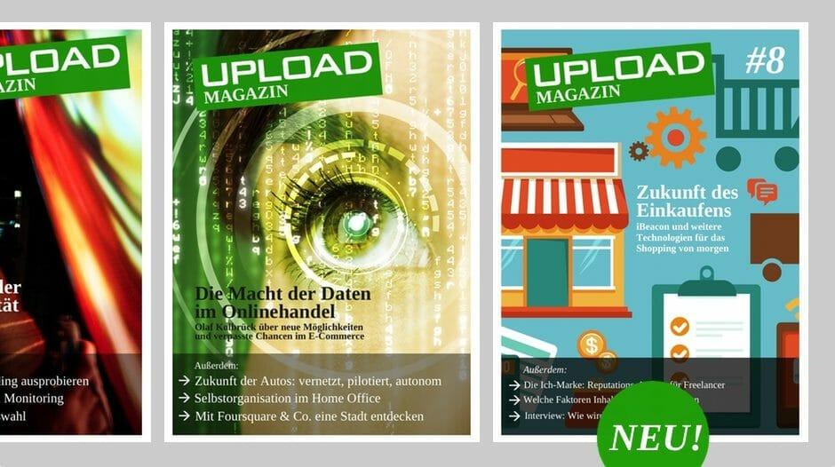 UPLOAD Magazin im März 2014