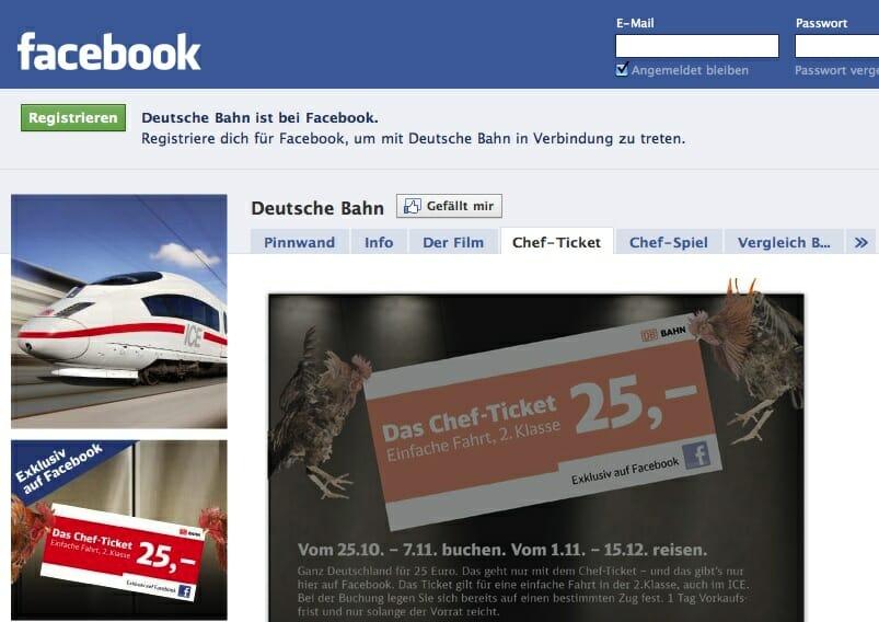 """Das """"Chef-Ticket"""" der DB Bahn sorgte für einen Knalleffekt beim Start der Social-Media-Aktivitäten. Aus dem Shitstorm entwickelte sich schließlich ein Anspruch."""