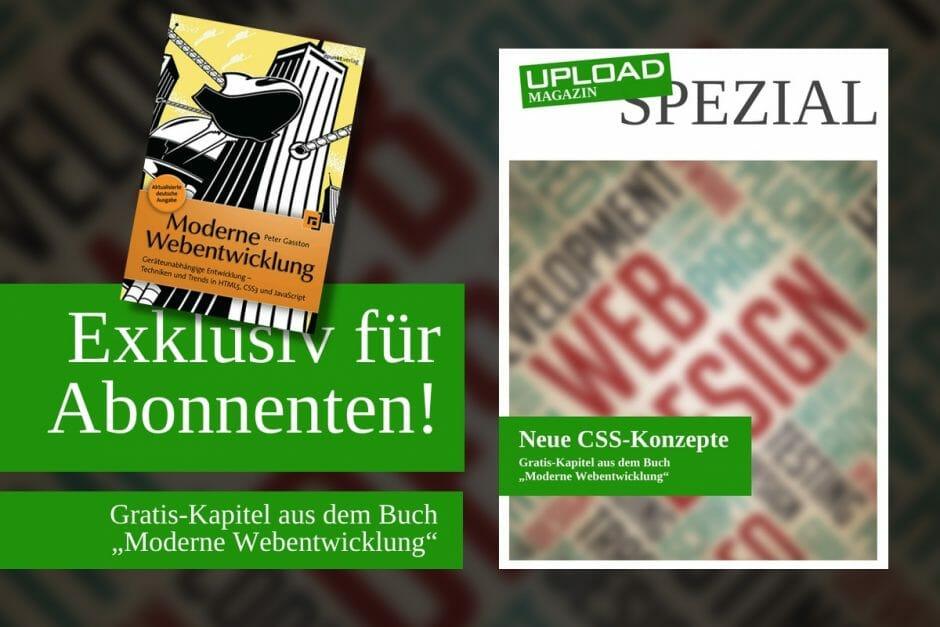 """UPLOAD Spezial """"Neue CSS-Konzepte"""""""