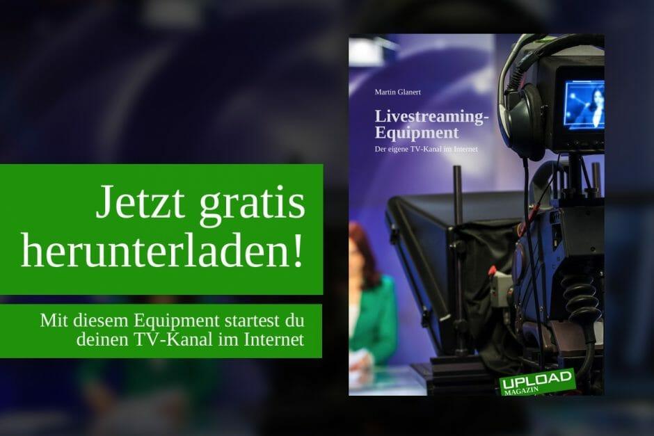"""UPLOAD Extra """"Livestreaming-Equipment"""""""