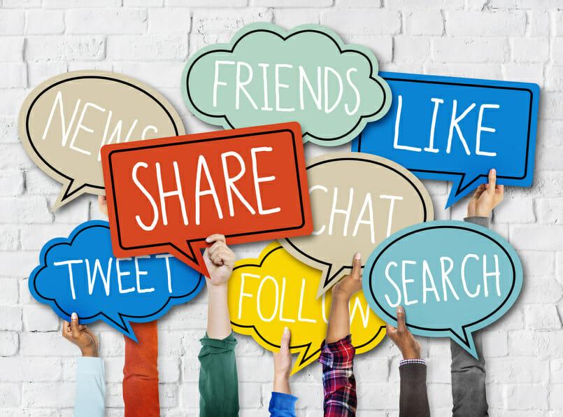 Symbolfoto Social Media