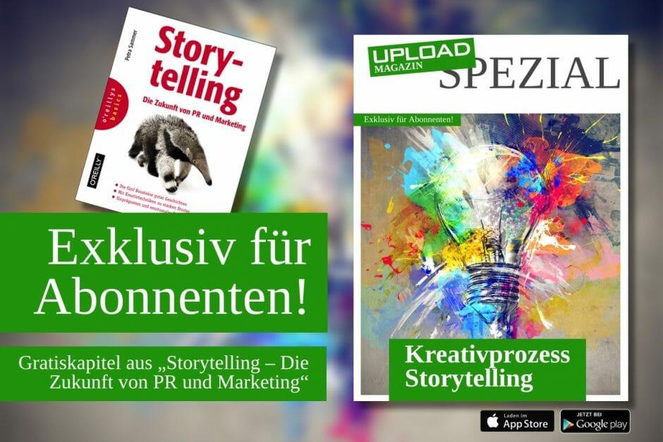 """UPLOAD Spezial """"Storytelling"""""""