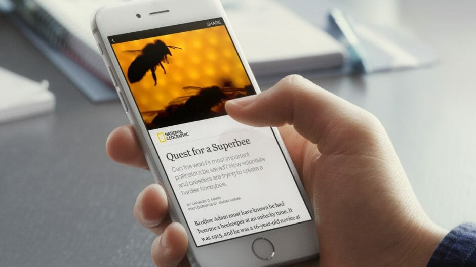 Mit den Instant Articles stellte Facebook ein viel diskutiertes Feature vor (Bild: Facebook).