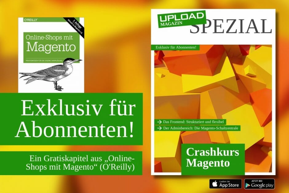 "UPLOAD Spezial ""Crashkurs Magento"""