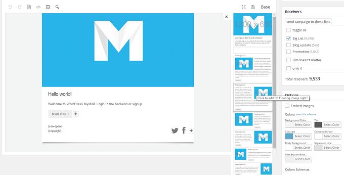 Screenshot MyMail