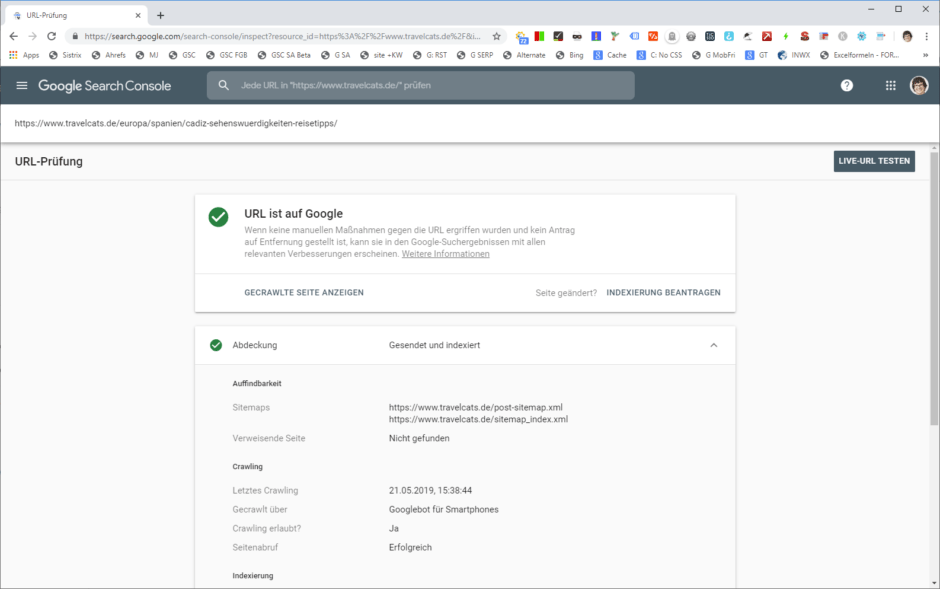 URL-Überprüfung