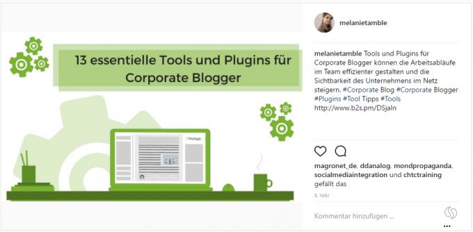 Beispiel Instagram Post2