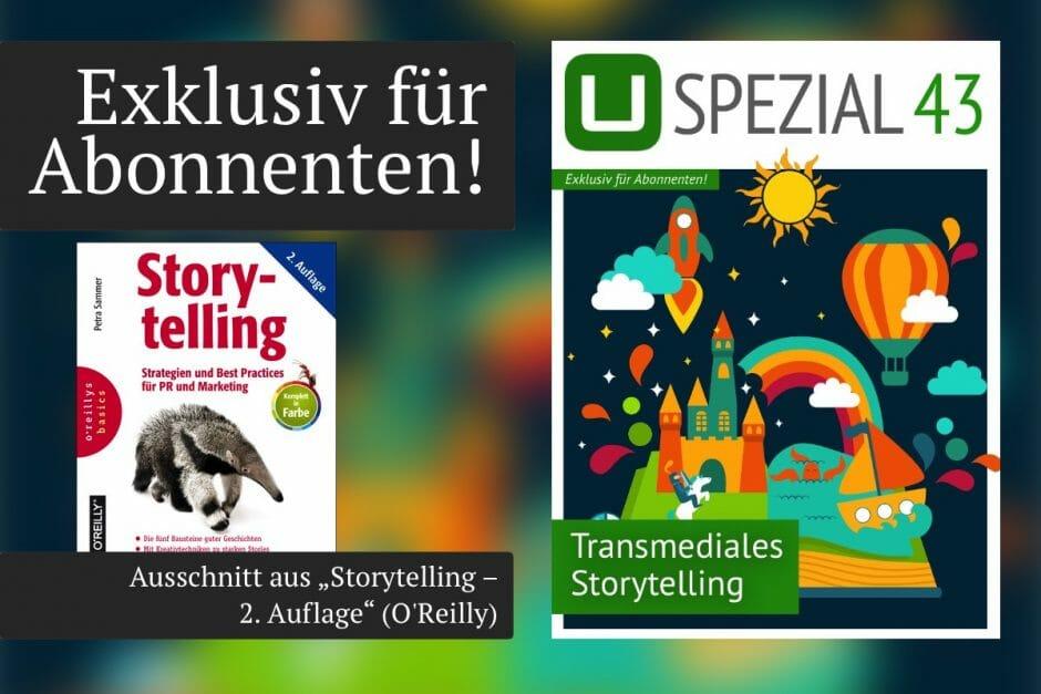 UPLOAD Spezial Transmediales Storytelling