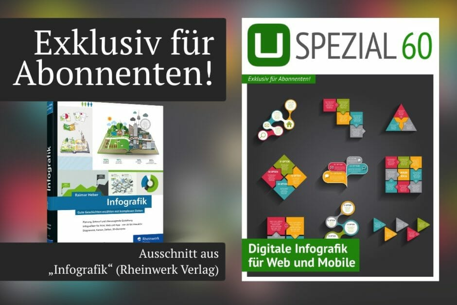 "UPLOAD Spezial 60 ""Digitale Infografiken"""