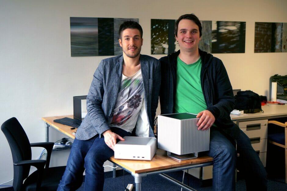 Gründer des Startups Uniki mit dem Produkt Elly