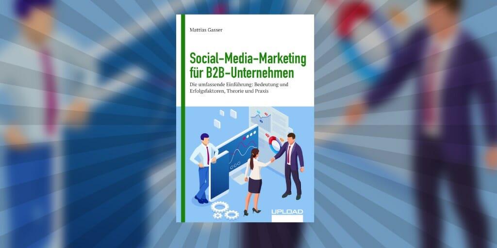 """Cover unseres E-Books """"Social-Media-Marketing für B2B-Unternehmen"""""""