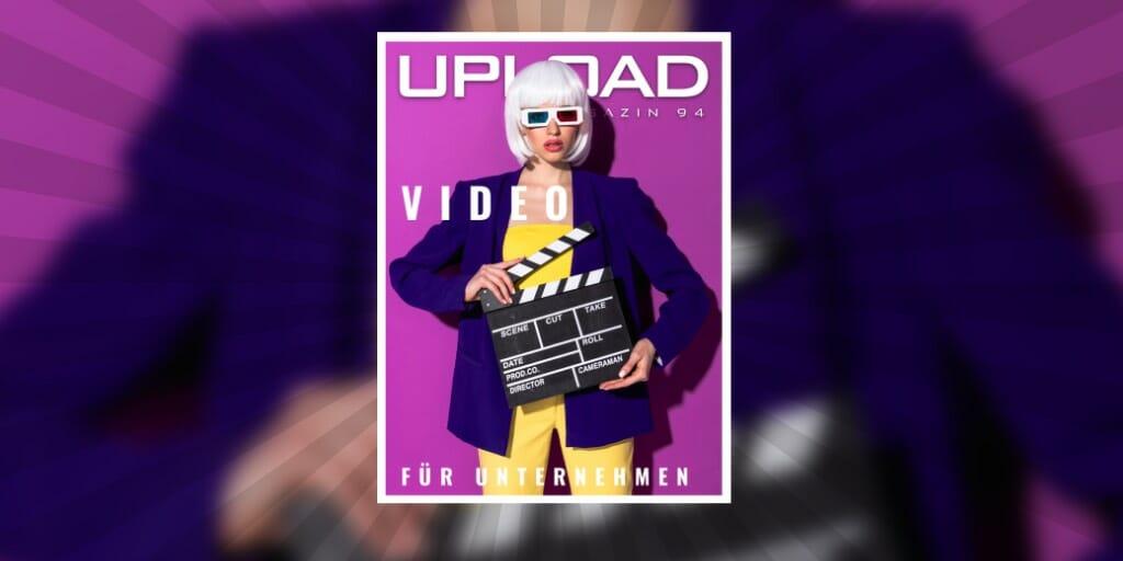 Cover von UPLOAD Magazin 94
