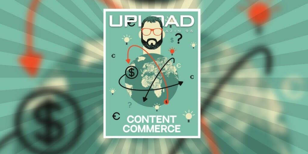 Cover des aktuellen UPLOAD Magazins